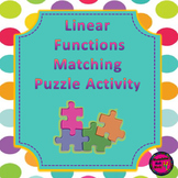 Linear Function Puzzle Activity