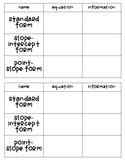 Linear Function Representations Notes