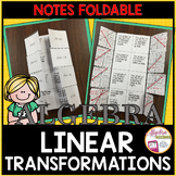 Graphing Linear Transformations Foldable
