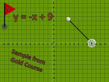 Linear Functions Miniature Golf