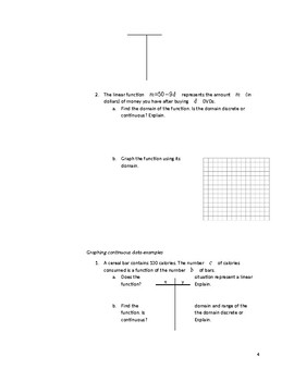 Linear Functions
