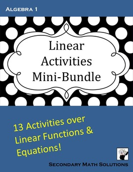 Linear Activity Mini-Bundle