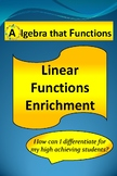 Linear Functions Enrichment