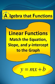 Linear Functions Finding Slope, y-intercept, and Equation