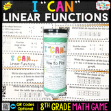 8th Grade Linear Functions Graphs & Rate of Change Game 8t
