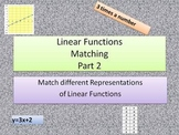 Linear Functions Matching Game Part 2