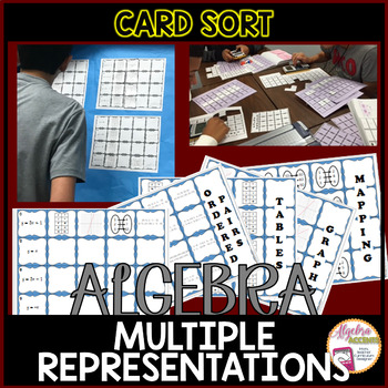 Linear Functions: Multiple Representations Matching Activity