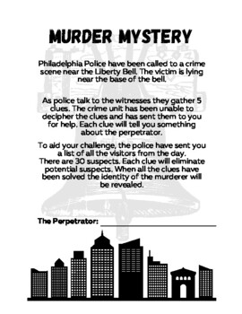 Linear Functions Murder Mystery