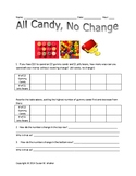 Graphing Linear Functions with Candy: kid friendly, tables, graphs, & slopes
