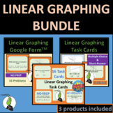 Graphing Linear Real Life Algebra 1 Google, BOOM, Editable Bundle