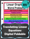 Linear Graphs & Word Problems