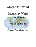 Linear Inequalities Around the World Word Problem Algebra Math Stations