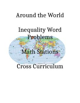 Linear Inequalities Around the World Word Problem Algebra