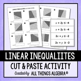 Linear Inequalities Cut and Paste Activity