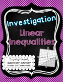 Linear Inequalities Investigation Activity and Notes