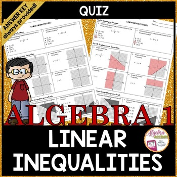 Linear Inequalities QUIZ