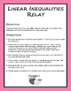Linear Inequalities Relay (Game)