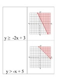 Linear Inequalities Scavenger Hunt