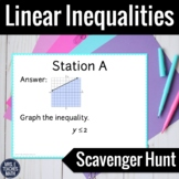 Linear Inequalities Scavenger Hunt