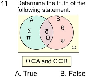 Linear Inequalities, Truth and Sets - Student Reference + 5 Assignments for PDF