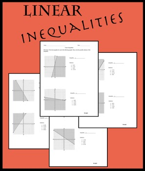 Linear Inequalities - Graphs and Solutions