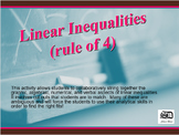 Linear Inequalities (rule of four matching)