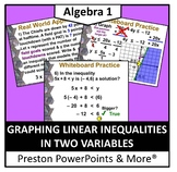 (Alg 1) Graphing Linear Inequalities in Two Variables in a PowerPoint
