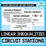 Linear Inequality Circuit Stations