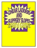 Linear Ladders and Slippery Slopes Board Game