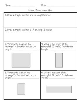 Linear Measurement Bundle