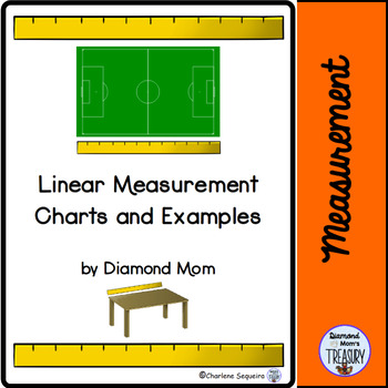 Linear Measurement Charts And Examples By Diamond Mom  Tpt