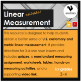 Linear Measurement {Digital & PDF}