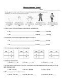 Linear Measurement Grade 3-5 Metric Worksheets