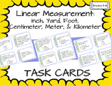 Linear Measurement: Inches, Yards, Feet, Centimeters, Mete