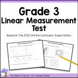 Linear Measurement Test (Grade 3)