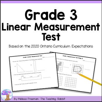 Linear Measurement Test for Grade 3 (Ontario Curriculum)