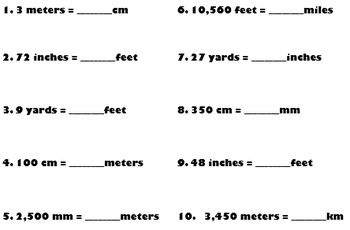 Linear Measurement Unit Conversion
