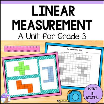 Linear Measurement Unit for Grade 3 (Ontario Curriculum)