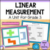 Linear Measurement & Area Unit (Grade 3)