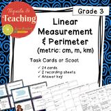 Linear Measurement and Perimeter Task Cards