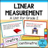 Linear Measurement Unit for Grade 2 (Ontario Curriculum)