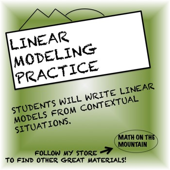 Linear Modeling Practice