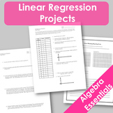Linear Regression Projects! (CCSS.HSF.LE.A.1)