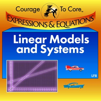 Linear Models and Systems (LF8): HSA.REI.6, HSA.REI.11