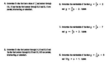 Linear Pair Relationships