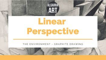 Linear Perspective Graphite Drawing Project
