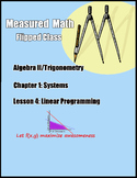 Linear Programming Practice Problems and Examples - Algebr