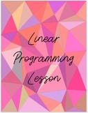 Linear Programming Lesson