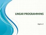Linear Programming Unit