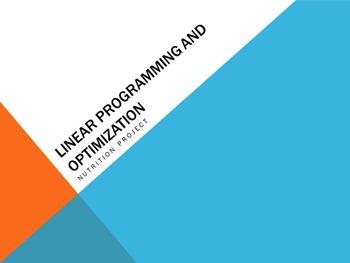 Linear Programming and Optimization Unit